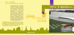 folleto ACTUACIONES SECTOR TRES 150107