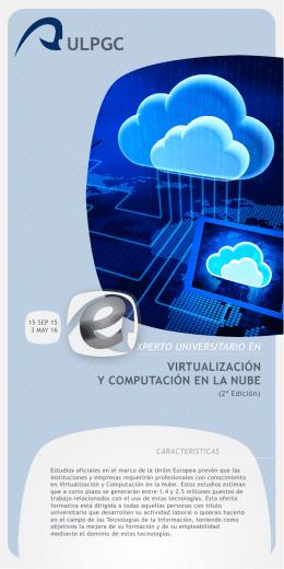 Folleto Experto en Virtualización y Computación en