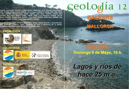 Folleto Geolodia 11 Balears