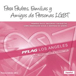 Para Padres, Familias y Amigos de Personas LGBT