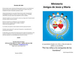 Manual Amigos de Jesús y Maria 2014