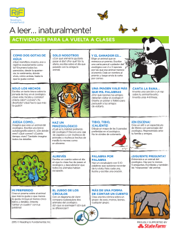 A leer… ¡naturalmente! - Reading Is Fundamental