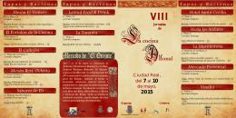 folleto cocina alfonsí 2014 - Ayuntamiento de Ciudad Real