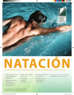 Folleto NADADORES GSSI - Pedro Reinaldo Garcia