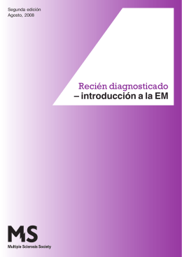 introducción a la EM - Multiple Sclerosis Society