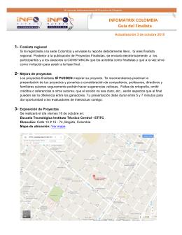 Guia de finalista - Proyecto Multimedia