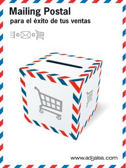 Mailing Postal para el éxito de tus ventas EQUIPO