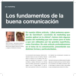 Los fundamentos de la buena comunicación