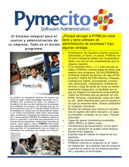 FOLLETO PYMECITO