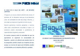 FOLLETO definitivo JORNADAS El AGUA-2