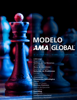 FOLLETO Modelo AMA Global - American Management Association