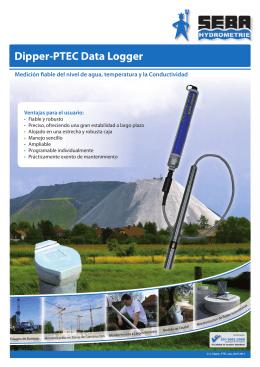 Dipper-PTEC Data Logger - SEBA Hydrometrie GmbH & Co. KG
