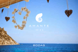 Folleto Bodas 2017 - Amante Beach Club