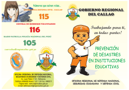 Folleto Prevencion IE - NIÑOS... - Seguridad