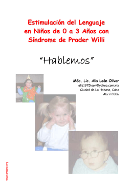 "folleto ""Hablemos"""