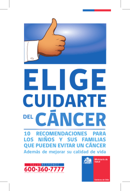 FOLLETO CANCER NIÑO