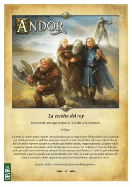 La escolta del rey - Las Leyendas de Andor