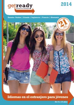 descárgate nuestro folleto de Programas para Jóvenes.