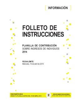 INSTRUCCIONES PLANILLA INDIVIDUO 31 oct 14