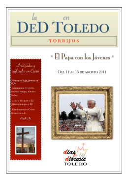 Folleto DeD Torrijos
