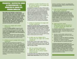 preguntas y respuestas sobre la conservación y la donación de