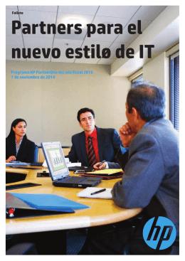 Partners para el nuevo estilo de IT