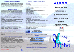 Folleto AIRSS-2012