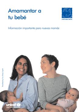 Amamantar a tu bebé. Información importante para nuevas