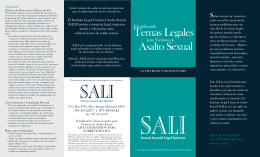 Temas Legales Asalto Sexual - Maryland Coalition Against Sexual