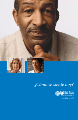 ¿Cómo se siente hoy? - Blue Cross & Blue Shield of Rhode Island