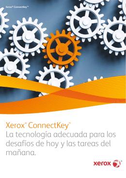 Folleto Xerox ConnectKey - Software de Control de