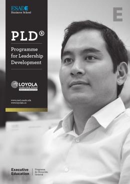 Programme for Leadership Development – PLD