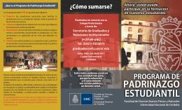 folleto ppe CORREGIDO 15 - Facultad de Ciencias Exactas, Físicas