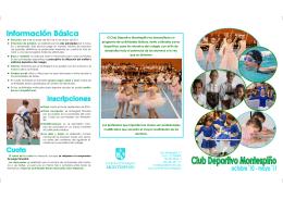 Folleto PEKEclubDepor 10-11