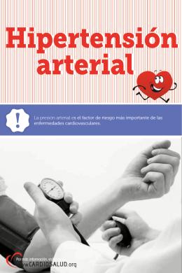 Folleto Hipertensión arterial