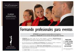 Folleto Informativo Curso Azafata WEB