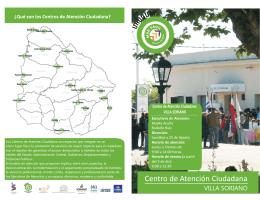Folleto Villa Soriano 1er año... - Compras y Contrataciones Estatales