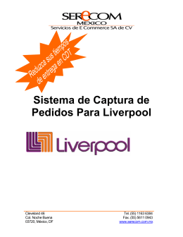 Folleto para CD ASN Liverpool 2008-03