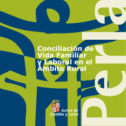 folleto Rural - Junta de Castilla y León