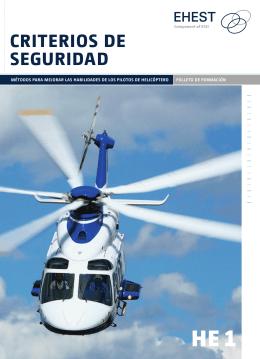 criteriOs de seGUridad - EASA
