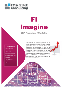 Folleto Imagine FI - IMAGINE CONSULTING