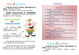Folleto Carnaval 2015