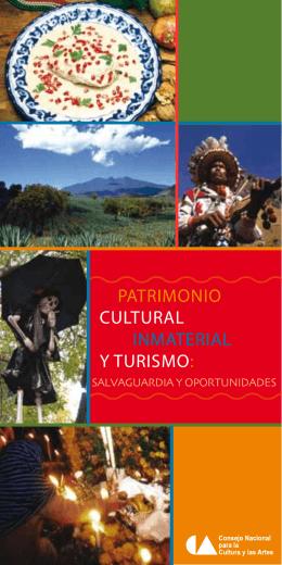 patrimonio cultural inmaterial y turismo