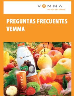 Preguntas frecuentes Vemma Brand