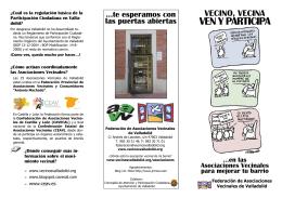 Folleto Participación 2012.pub