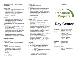 Day Center Services