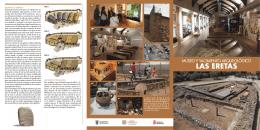 Folleto de contenido del Museo y Yacimiento Las Eretas