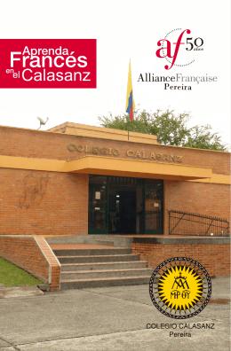 folleto calasanz - Colegio Calasanz Pereira