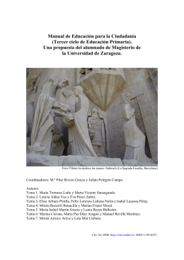 Manual de Educación para la Ciudadanía - Proyecto Clío