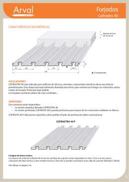 Ficha de producto Cofrastra 40